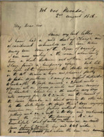 1856-08-02 Letter from M.L. Stangroom to his father