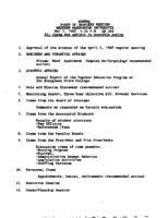 WWU Board minutes 1987 May