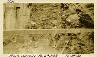 Lower Baker River dam construction 1925-10-29 Rock Surface #248
