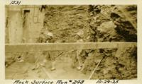 Lower Baker River dam construction 1925-10-29 Rock Surface #248