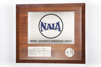 Soccer (Women's) Plaque: NAIA West Region Area, Runner-Up, 1991