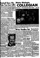 Western Washington Collegian - 1955 April 8
