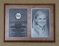 Hall of Fame Plaque: Brandi Stevenson, Track and Field, Class of 2013