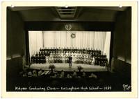Bellingham High School mid-year graduation