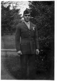 Man in military uniform