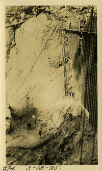 Lower Baker River dam construction 1925-03-18