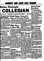 Western Washington Collegian - 1954 June 8