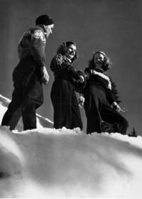 1947 Skiing at Mount Baker
