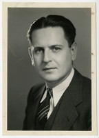 Studio portrait of Ed Jukes