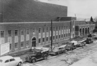 1951 Auditorium-Music Building: Construction