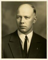 Studio portrait of R.N. Fredeen, Chief of Police, Bellingham Police Department