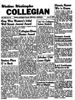 Western Washington Collegian - 1953 June 9