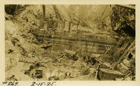 Lower Baker River dam construction 1925-02-15