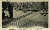 Lower Baker River dam construction 1925-07-07 Hatchway Form 4th Floor