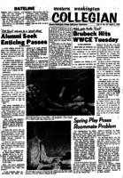 Western Washington Collegian - 1959 April 3