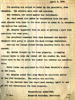 AS Board Minutes 1946-04