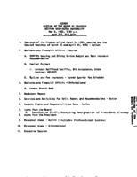 WWU Board minutes 1982 May