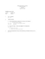 WWU Board of Trustees Agenda Packet: 2012-04-12