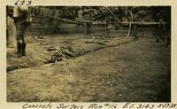Lower Baker River dam construction 1925-05-27 Concrete Surface Run #116 El.314.3