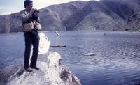 Bill Eppridge, Sports Illustrated photographer, at Castle Lake.