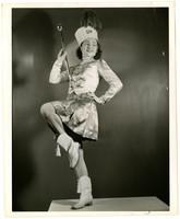 Unidentified young woman baton twirler
