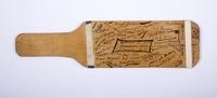 Football Paddle: Signed Paddle commemorating Bellingham - Ellensburg Game (front), 1924