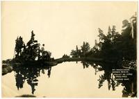 Lakelet on verge of Mazama Dome