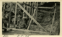 Lower Baker River dam construction 1925-03-07