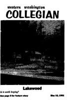 Western Washington Collegian - 1961 May 12