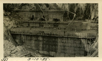 Lower Baker River dam construction 1925-03-10