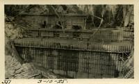 Lower Baker River dam construction 1925-03-10