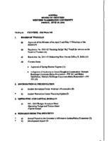 WWU Board minutes 2001 June