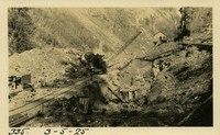 Lower Baker River dam construction 1925-03-05