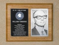 Hall of Fame Plaque: William Tomaras, Administrator, Class of 1978