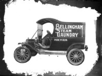 Bellingham Steam Laundry truck