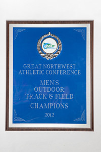 Track and Field (Men's) Plaque: GNAC Outdoor Champions, 2012