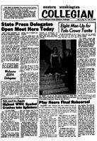 Western Washington Collegian - 1958 December 5