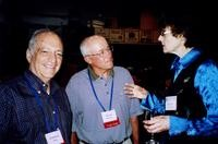 2007 Reunion--Lennard Thal, Bryan Hearsey and Marian Alexander at the Banquet