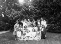 1942 Campus Junior High Students