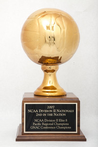 Volleyball (Women's) Trophy: NCAA Division 2 Nationals, 2nd (side 2), 2007