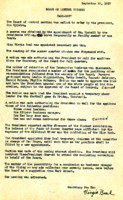 AS Board Minutes 1937-09