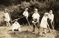 1935 Students Gardening