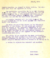 AS Board Minutes 1933-01