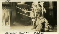 Lower Baker River dam construction 1925-09-23 Governor Unit #1
