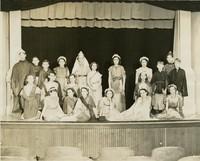 1938 Sixth Grade Class Performing Greek Play