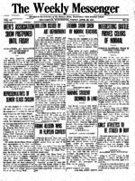 Weekly Messenger - 1921 April 22