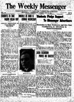 Weekly Messenger - 1921 July 8