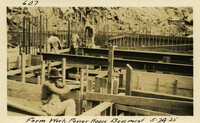 Lower Baker River dam construction 1925-05-24 Form Work Power House Basement