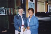 2007 Reunion--Carole (Looysen) Young and Mary (Looysen) Nelson