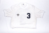 Soccer (Women's) Jersey: #3, Annette Duvall, 1982/1984